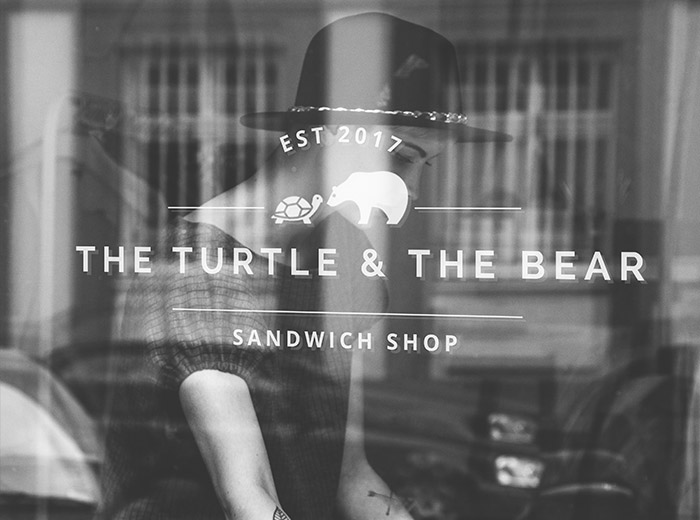 Web Design Sandwich Shop Turtle and The Bear Website